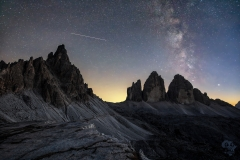 Milky Way at Lavaredo